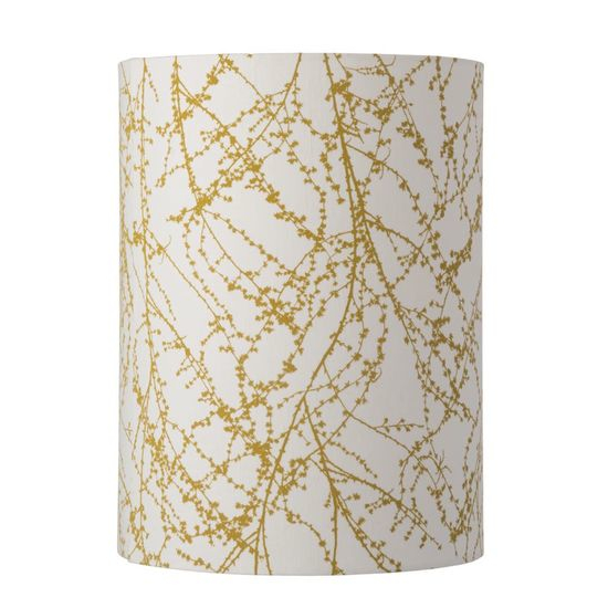 Lampenschirm 30-h-40cm-branches-ochre
