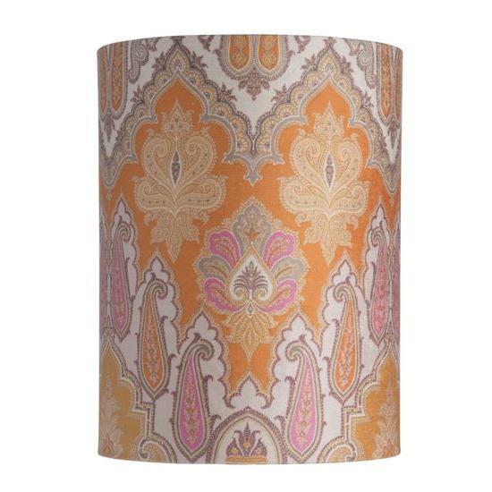 Lampenschirm 30-h-40cm-brocade-yellow-pink
