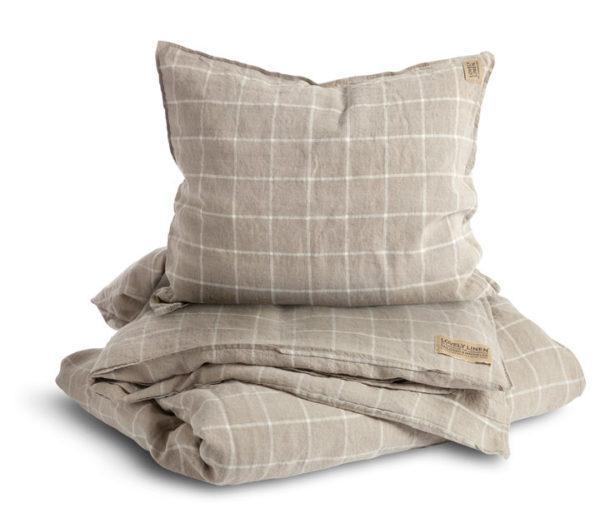 Bettbezug-Check-Lovely-Linen-FS