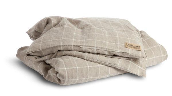 Bettbezug-Check-Lovely-Linen-FS2