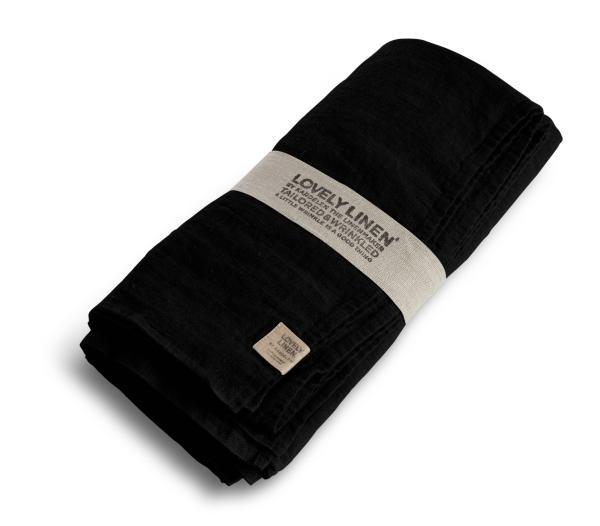 Buegelfreie-Tischdecken-und-Servietten-von-Lovely-Linen, black