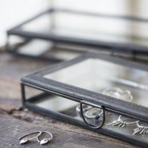 Dekorations Aufbewahrungs-Glasbox