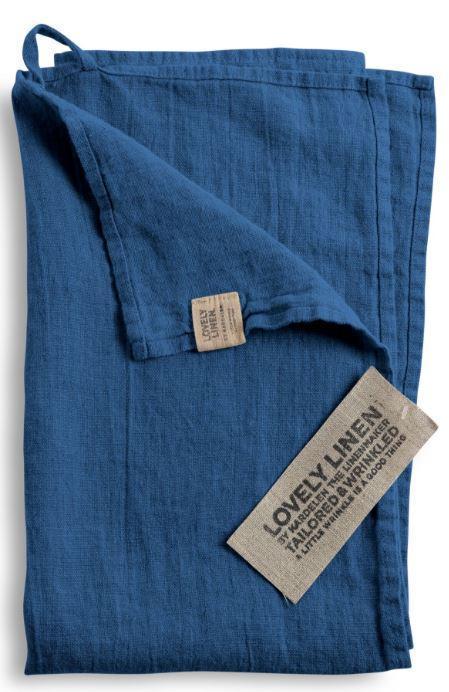 G-stehandt-cher-f-r-Bad-und-WC-von-Lovely-Linen-in-denim-blue
