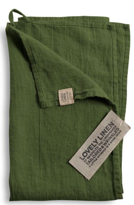 G-stehandt-cher-f-r-Bad-und-WC-von-Lovely-Linen-in-jeep-green
