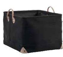 Handtuchkorb-Lubin-von-Aquanova-in-schwarz