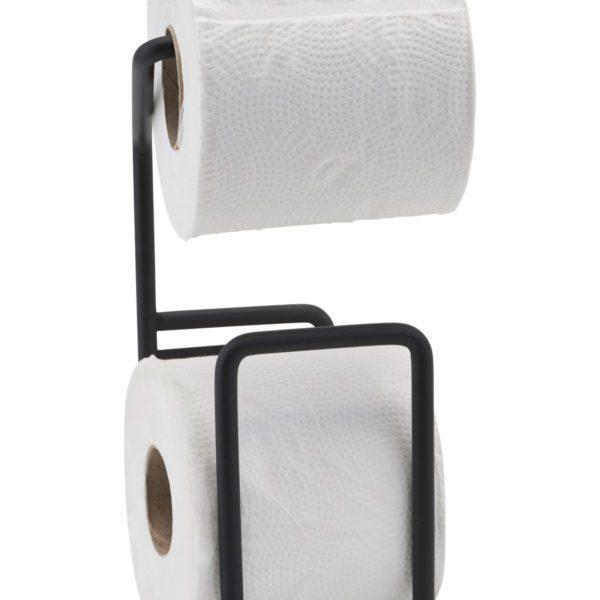 House-Doctor-Toilettenpapierhalter-schwarz