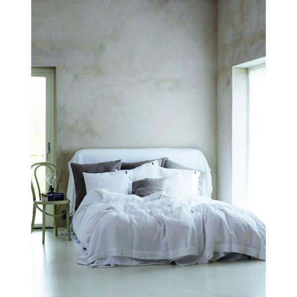 Natur Bettwäsche in off-white von Lovely Linen