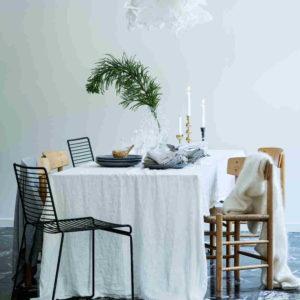 Tischdecken aus Leinen