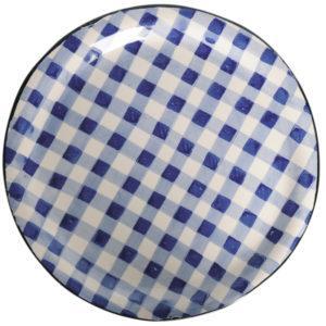 Salatteller blau weiß von Virginia Casa