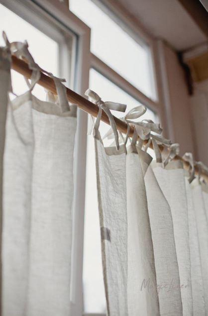 Sommervorhang-aus-Leinen