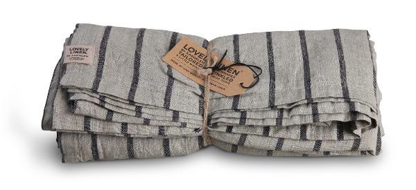 Tischdecke-Lovely-Linen-Stripes-black-in-145-x250-cm