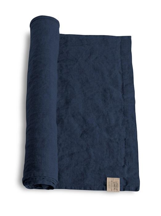 Tischl-ufer-von-Lovely-Linen-in-midnight-blue
