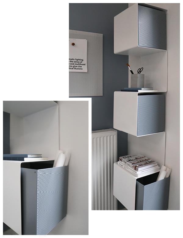 Wandregal-plus-Aufbewahrungsbox-aus-Metall-von-Anne-Linde