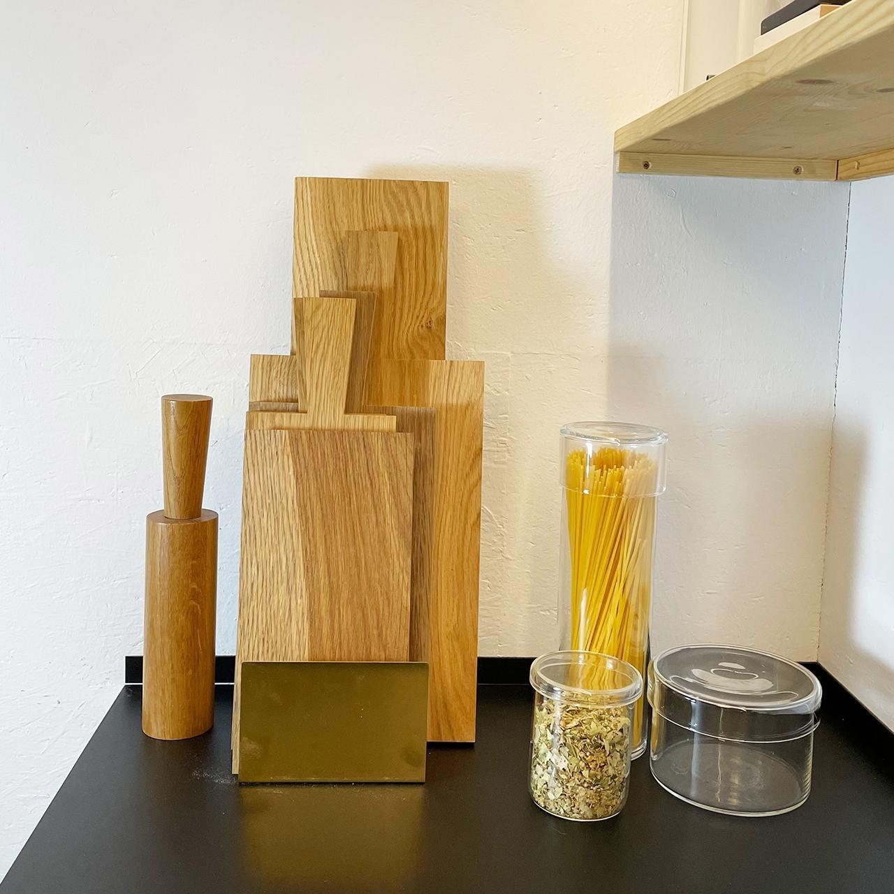 Küchenhelfer Nudelsammler Glasgefäß mit Decke
