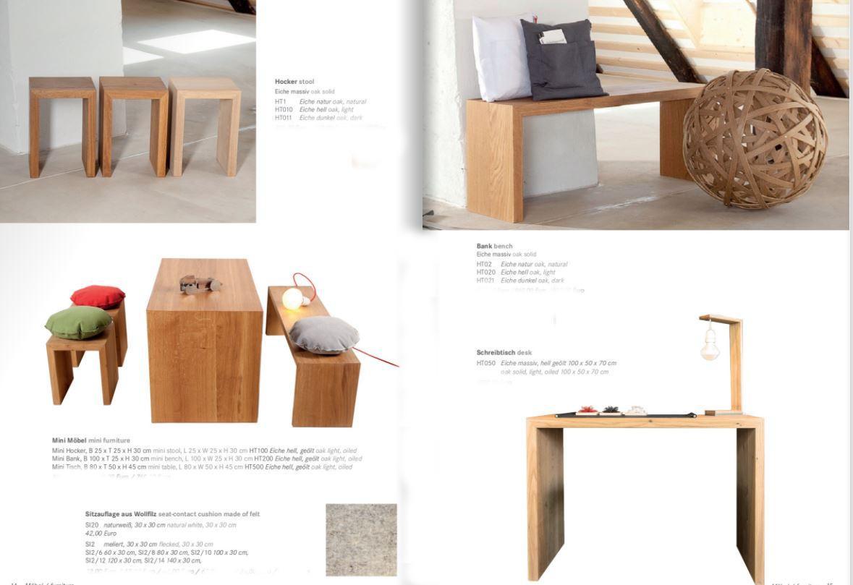 Hocker, Bänke und Sitzauflagen von raumgestalt